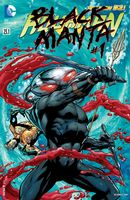 Aquaman (New 52) #23.1 - Black Manta #1 - 3D Lenticular Cover